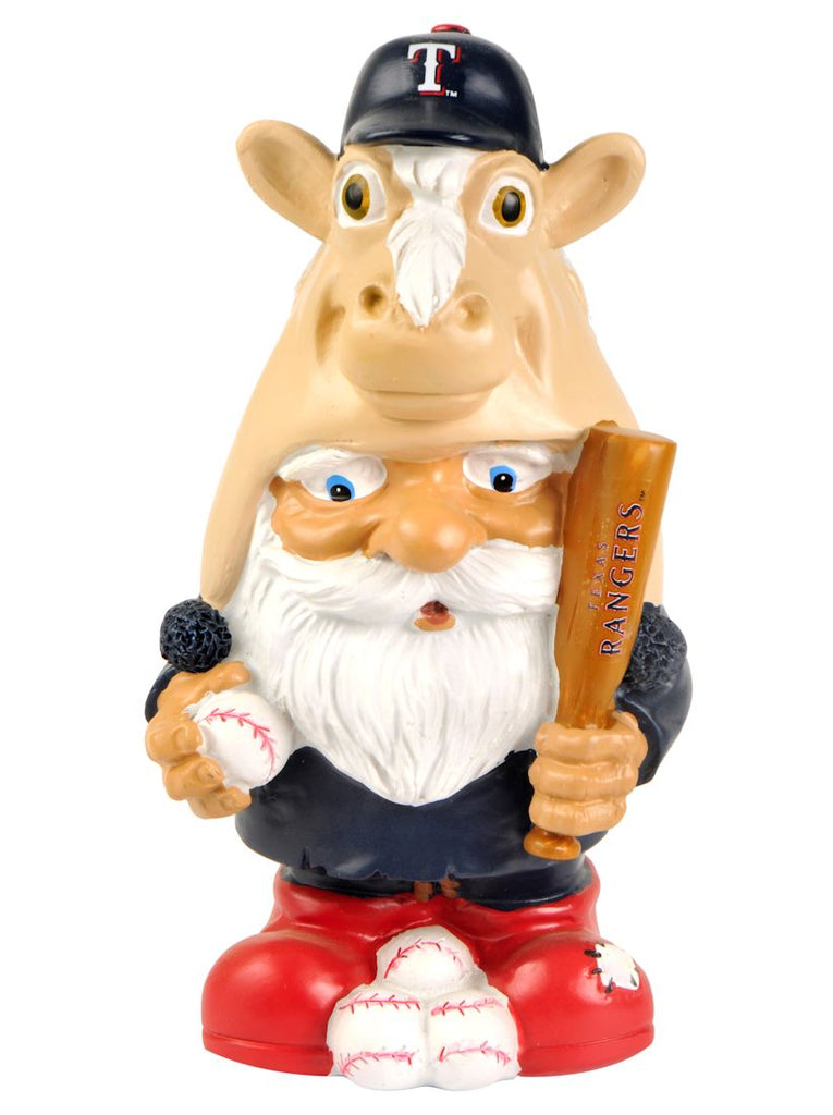Texas Rangers Garden Gnome - Mad Hatter - Forever Collectibles