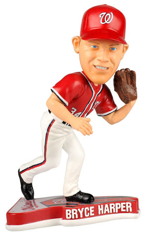 Washington Nationals Bryce Harper Pennant Base Bobblehead - Forever Collectibles