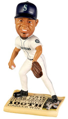 Seattle Mariners Felix Hernandez Bobblehead with Newspaper Base - Forever Collectibles