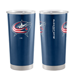 Columbus Blue Jackets Travel Tumbler 20oz Ultra Blue - Boelter Brands