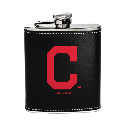 Cleveland Indians Flask Stainless Steel - Boelter Brands