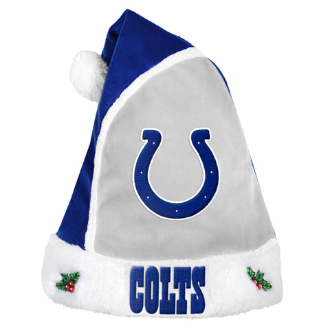 Indianapolis Colts 2015 Basic Santa Hat - Forever Collectibles