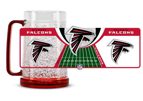 Atlanta Falcons Crystal Freezer Mug - Duck House Sports
