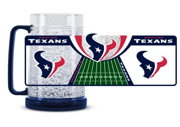 Houston Texans Crystal Freezer Mug - Duck House Sports
