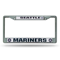 Seattle Mariners License Plate Frame Chrome - Rico Industries