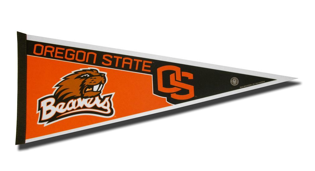 Oregon State Beavers Pennant 12x30 Carded Rico - Rico Industries