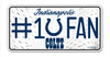 Indianapolis Colts License Plate #1 Fan - Rico Industries