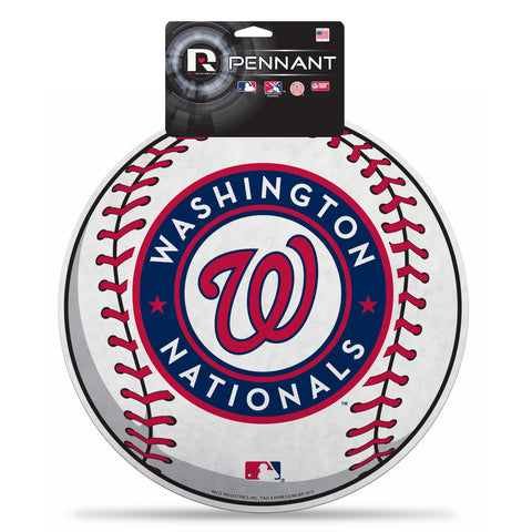 Washington Nationals Pennant Die Cut Carded - Rico Industries