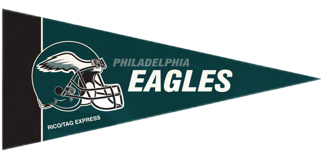 Philadelphia Eagles Pennant Set Mini 8 Piece - Rico Industries