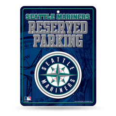Seattle Mariners Sign Metal Parking - Rico Industries
