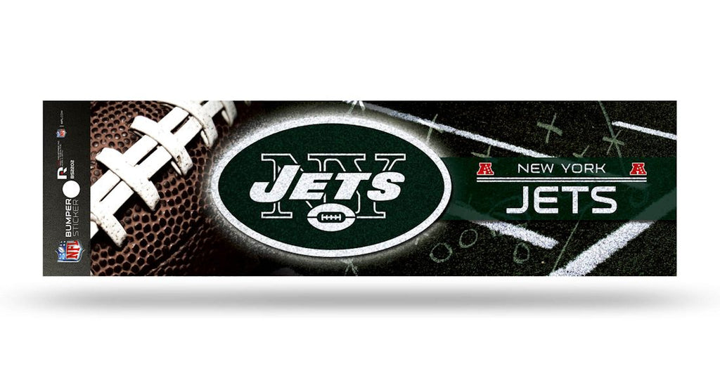 New York Jets Decal Bumper Sticker Glitter - Rico Industries