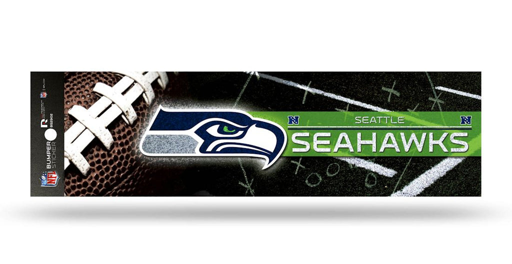 Seattle Seahawks Decal Bumper Sticker Glitter - Rico Industries