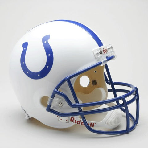Indianapolis Colts 1995-2003 Throwback Riddell Deluxe Replica Helmet - Riddell