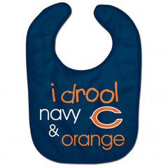 Chicago Bears Baby Bib All Pro Style I Drool Design - Wincraft