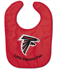 Atlanta Falcons All Pro Little Fan Baby Bib - Wincraft