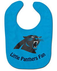 Carolina Panthers All Pro Little Fan Baby Bib - Wincraft