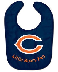 Chicago Bears All Pro Little Fan Baby Bib - Wincraft