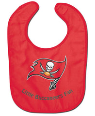 Tampa Bay Buccaneers All Pro Little Fan Baby Bib - Wincraft