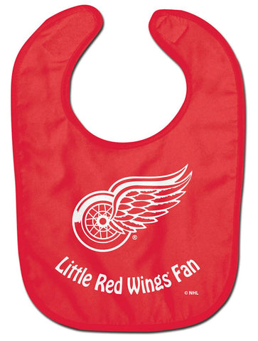 Detroit Red Wings Baby Bib - All Pro Little Fan - Wincraft