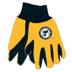 St. Louis Blues Two Tone Gloves - Adult -
