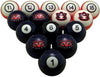 Auburn Billiard Ball Set - NUMBERED