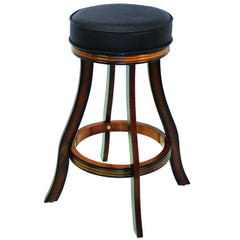 BACKLESS BARSTOOL - CHESTNUT