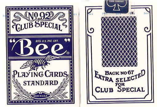 Bee Poker Cards