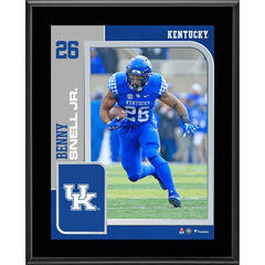 Benny Snell Kentucky Wildcats 10.5'' x 13'' Sublimated Player Plaque