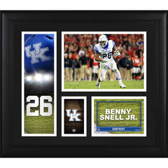 Benny Snell Kentucky Wildcats Framed 15'' x 17'' Player Collage