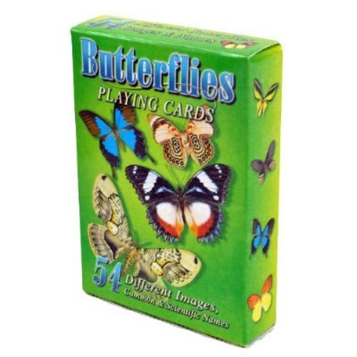 Butterflies Playing Cards - Deck of 54 cards