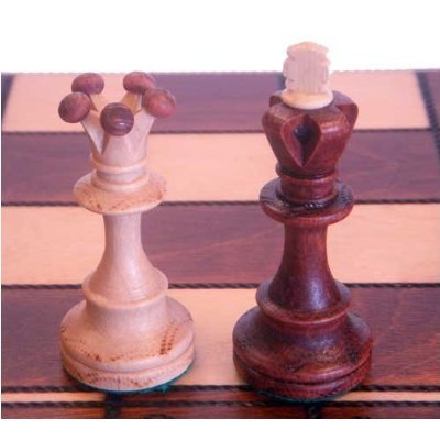 Chess Set Senator European Hand Carved Three inch King