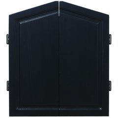 DARTBOARD CABINET-BLACK