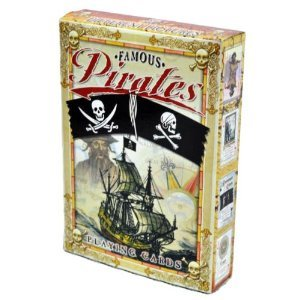 Famous Pirates Playing Cards-Deck of 54 cards