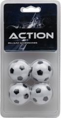 Foosball - Classic Blister Pack  - Pack of 4