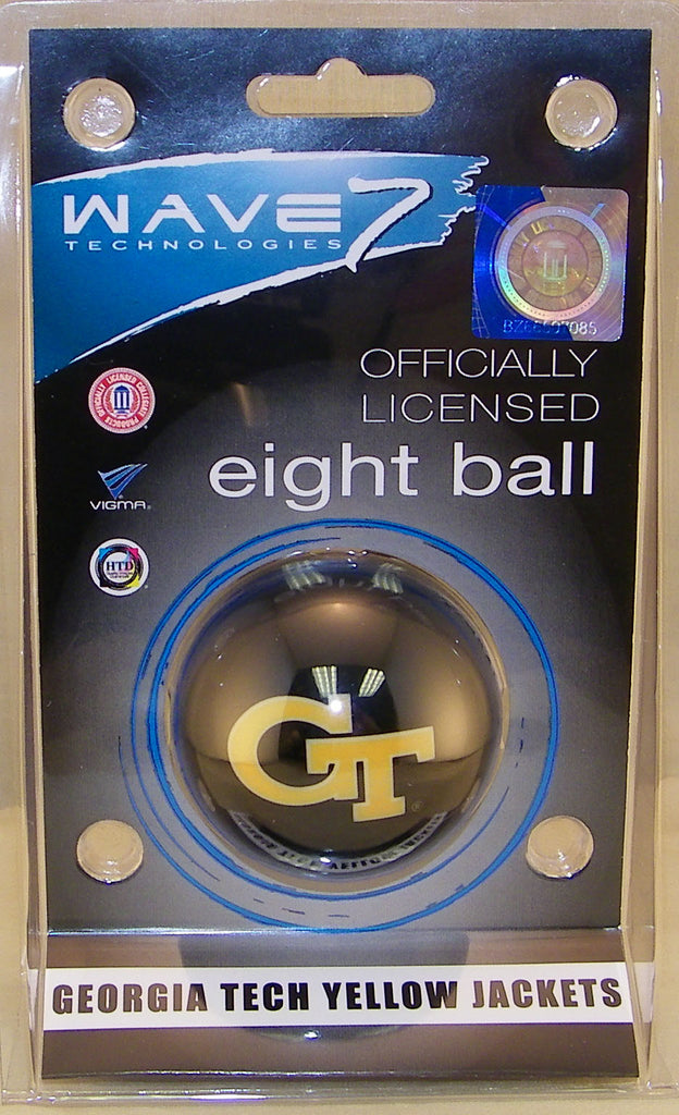 Georgia Tech Eight Ball BLACK GT - GATBBE300