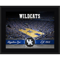 Kentucky Wildcats 10.5'' x 13'' Sublimated Basketball Plaque