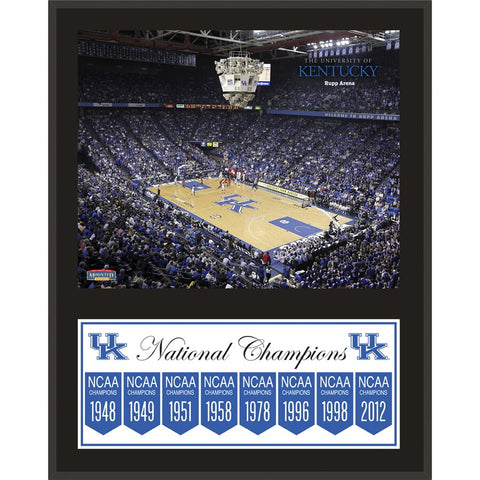 Kentucky Wildcats 12'' x 15'' Legacy Sublimated Plaque