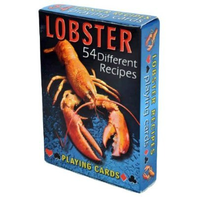 Lobster Recipes Playing Cards - Deck of 54 cards