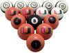 Miami Billiard Ball Set - NUMBERED