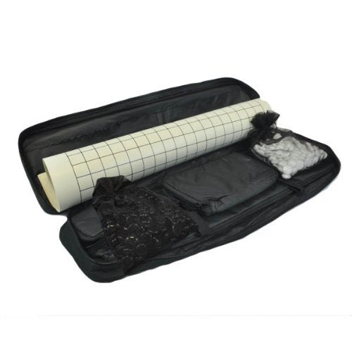 Marion's Travel Go Set - Roll Up Go Mat, Stones, Travel Bag