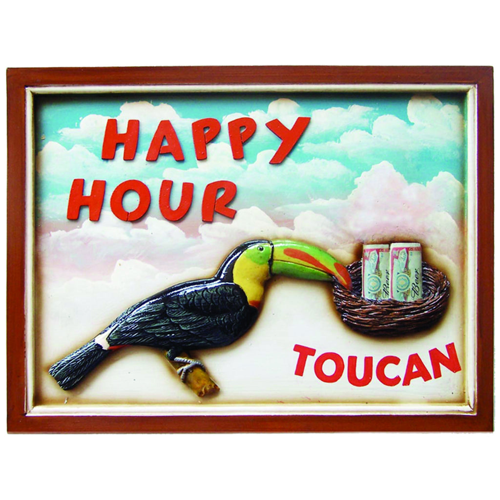 HAPPY HOUR WALL SIGN