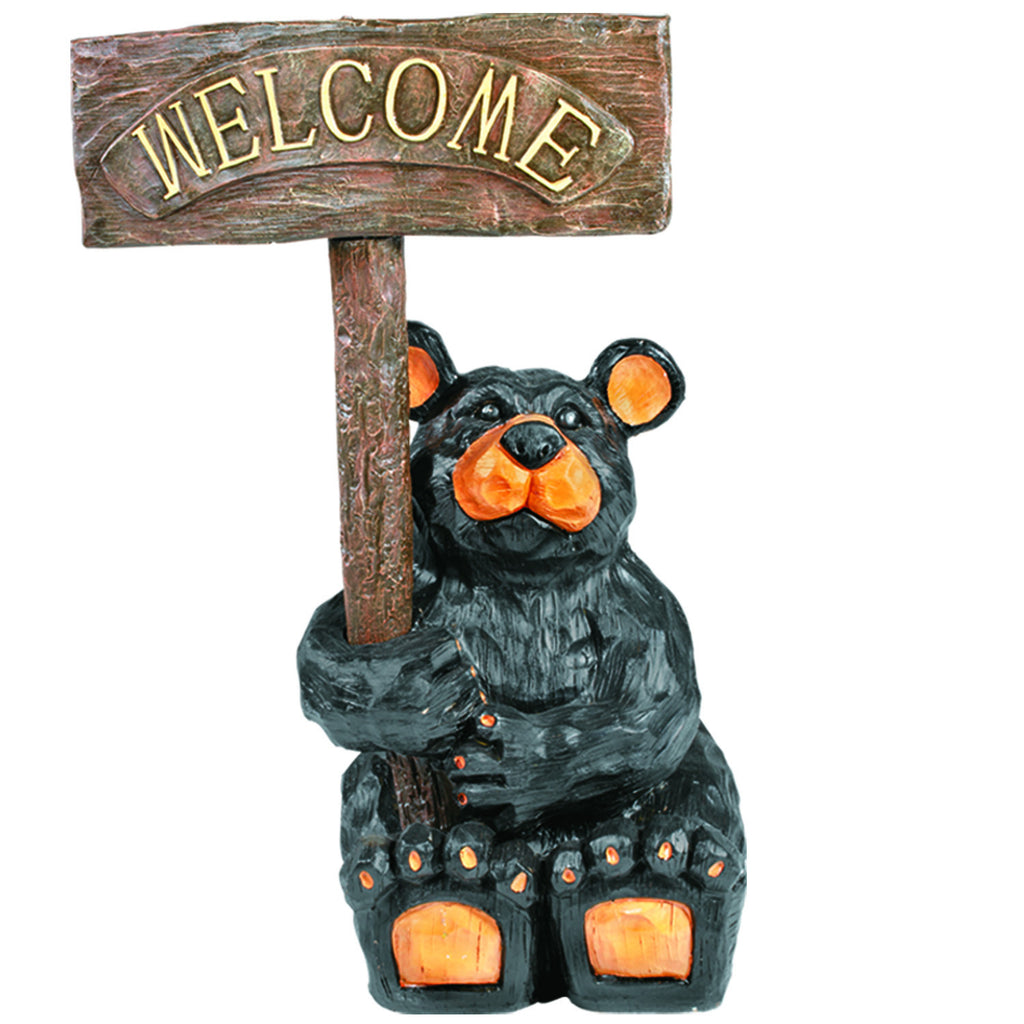OUTDOOR WELCOME BEAR