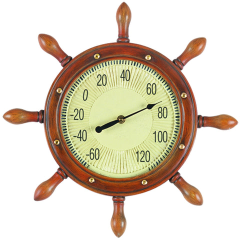 16 W CAPTAINS WHEEL THERMOMETER