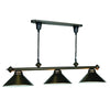 58 PULL DOWN BILLIARD FIXTURE
