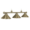 54 3LT BILLIARD LIGHT- ANTIQUE BRASS