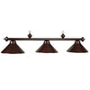 54 3LT BILLIARD LIGHT- CHERRY