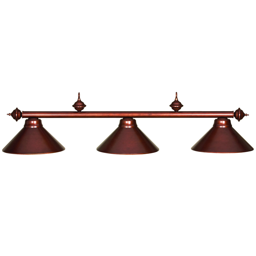 54 3LT BILLIARD LIGHT- CHESTNUT
