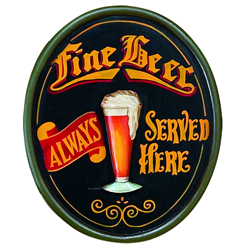 PUB SIGN-FINE BEER-23.5H