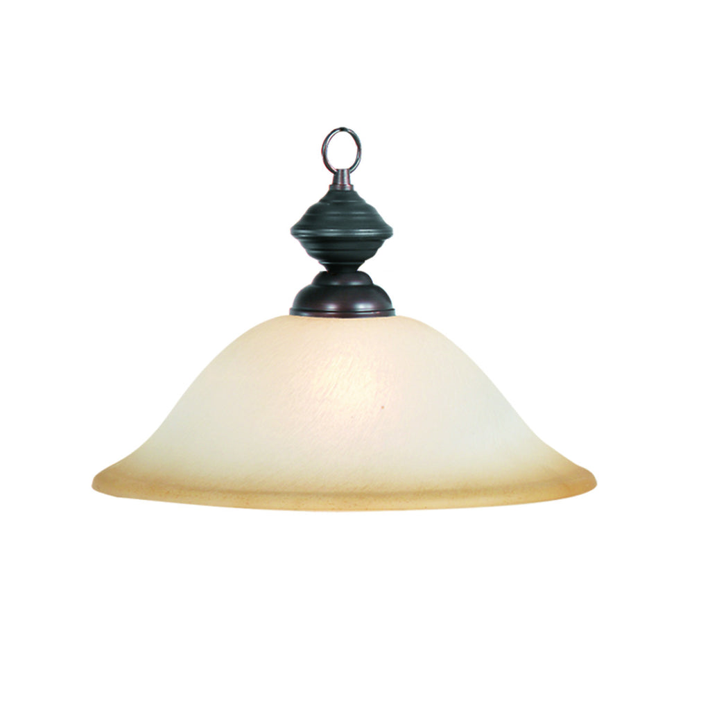 16 PENDANT-OIL RUBBED BRONZE
