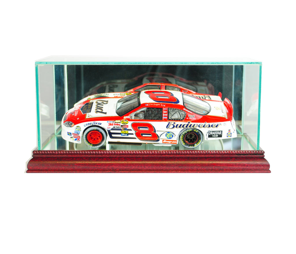 Nascar 1/24th Display Case with Cherry Moulding